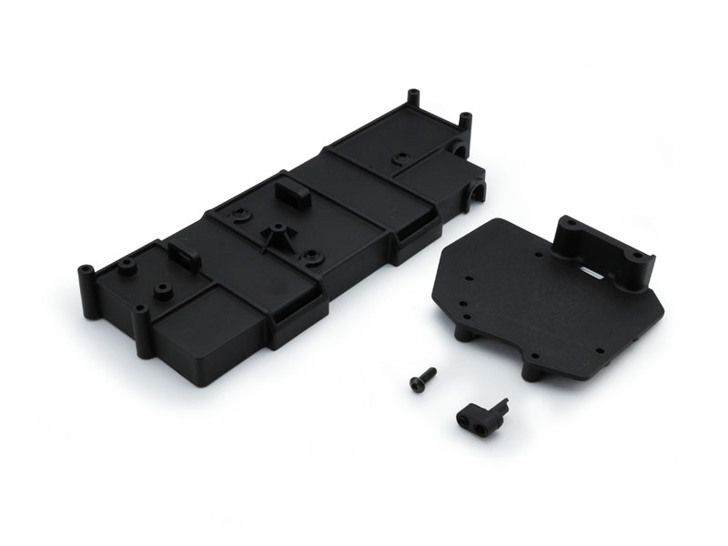 Carisma RC - SCA-1E Battery Box + ESC Mount Plate