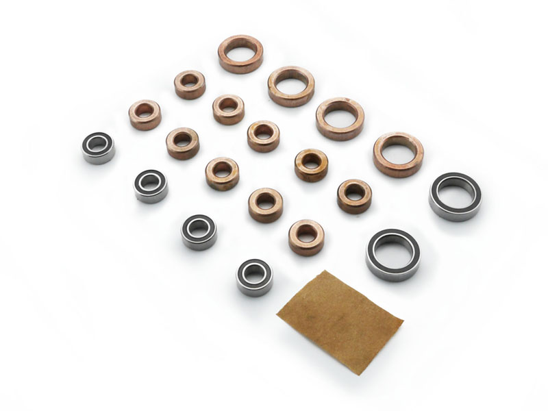 Carisma RC - SCA-1E Bearing - Bushing  Set (14pcs 5x10x4, 6pcs 10x15x4)