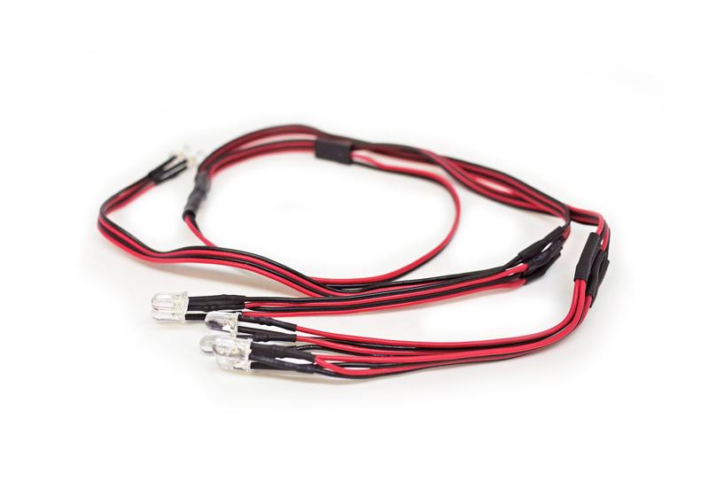 Carisma RC - SCA-1E LED Light Set  (8pcs 5mm LED white)