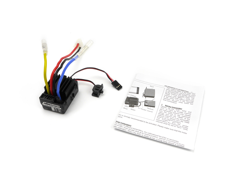Carisma RC - Brushed Crawler ESC - WP-1040-Brushed with Tamiya Style Connector