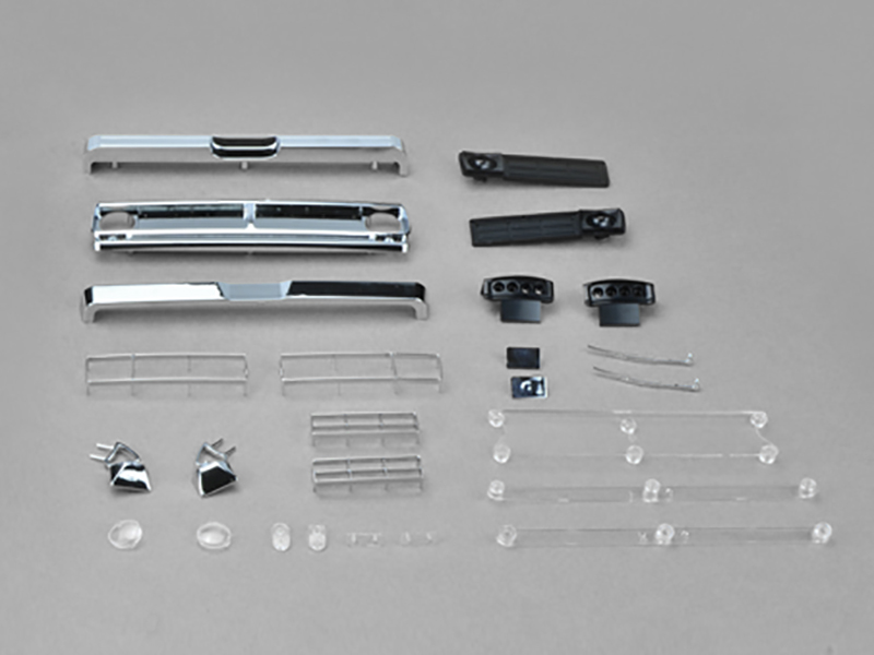 Carisma RC - SCA-1E 1976 Ford F-150 Body Parts Set