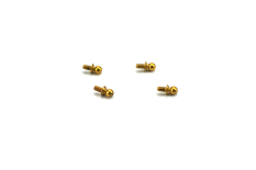 Carisma - MSA-1E 3.9 X3.95mm BALL STUDS SET (4)