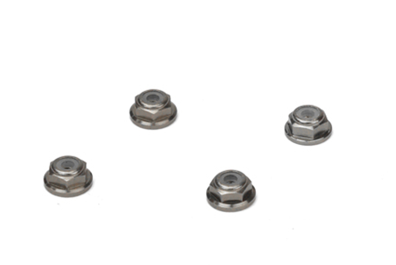 Carisma - MSA-1E M2 Wheel Lock Nut Set  ( Grey ) 4pcs