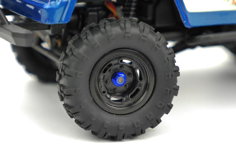 Carisma - MSA-1E M2 Wheel Lock Nut Set  ( Blue ) 4pcs