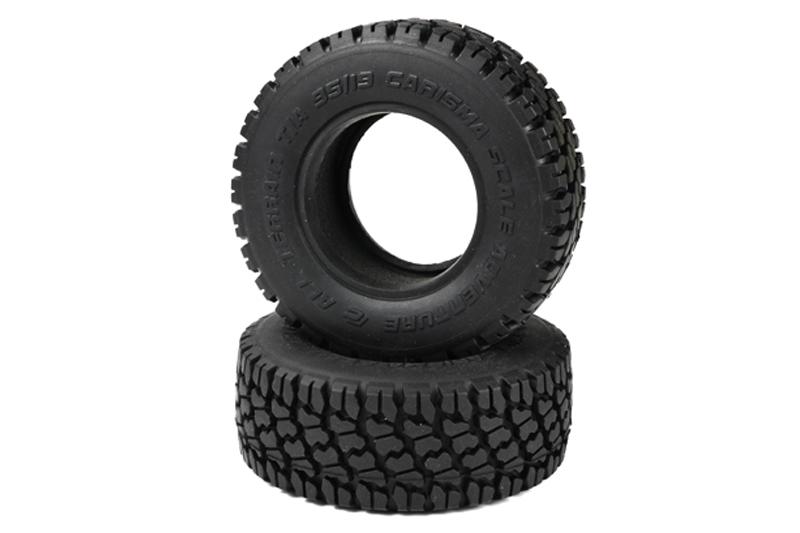Carisma RC - SCA-1E 95mm ATSS Crawler Tires (1 Pair)