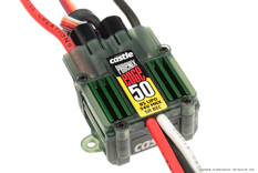 Castle - Phoenix Edge 50 - High Performance Air-Heli Brushless Controller - Datalogging - Telemetry Capable - Aux. Wire - 2-8S - 50A - 5A SBec