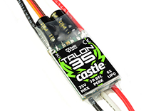 Castle - Talon 35 - High Performance Air-Heli Brushless Controller - Telemetry Capable - 2-6S - 35A - High Power SBec