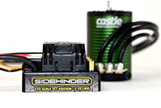 Castle - SIDEWINDER SCT  COMBO WITH 1410-3800KV 5MM MOTOR SENSORED