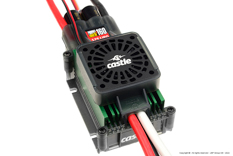 Castle - Phoenix Edge 160 HV-F - High Performance Air-Heli High Voltage Brushless Controller - Cooling Fan - Datalogging - Telemetry Capable - Aux. Wire - 6-12S - 160A - Opto