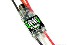 Castle - Talon 25 - High Performance Air-Heli Brushless Controller - Telemetry Capable - 2-6S - 25A - High Power SBec