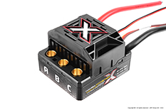 Castle - Mamba Monster X - 1-8 Extreme Car Controller - Waterproof - Datalogging - Telemetry Capable - 2-6S - High Power SBec - Sensored-Sensorless Motors
