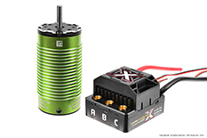 Castle - Mamba Monster X - Combo - 1-8 Extreme Car Controller with 1512-2650 Sensored Motor