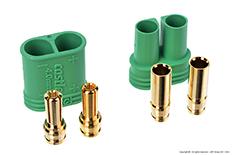 Castle - CC Polarized Bullet Connector 4mm - Set Male + Female