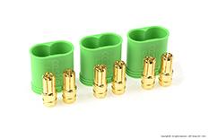 Castle - Polarized Bullet Connector 6.5mm - Male Set