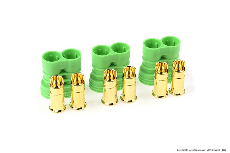 Castle - Polarized Bullet Connector 6.5mm - Female Set
