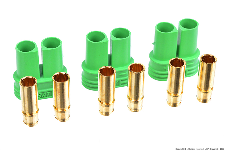 Castle - Polarized Bullet Connector 4mm - Female Set