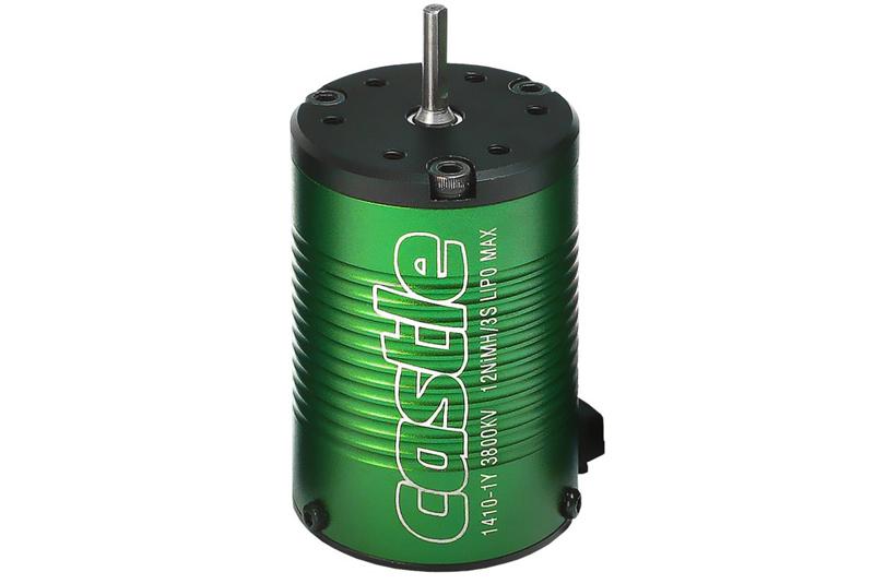 Castle - Brushless Motor 1410 - 3800KV - 4-Pole - Sensorless