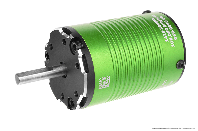 Castle - Brushless Motor 1410 - 3800KV - 4-Pole - 5mm Shaft