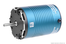 Castle - MOTOR, 4-POLE SENSORED BRUSHLESS, 1406-3800KV