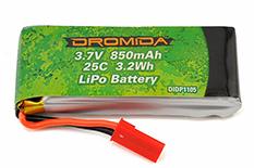 Dromida - LiPo 2S 7.4V 1600mAh 20C BX MT SC 4.18