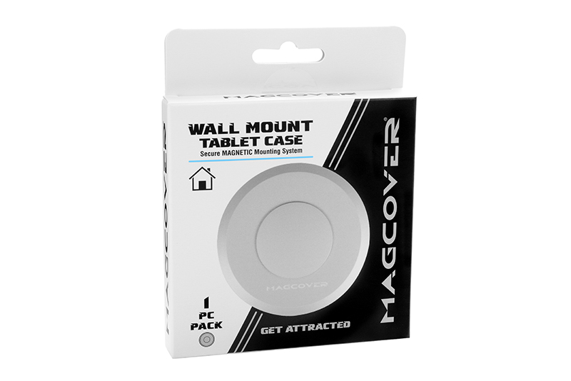 Magcover - Wall Mount Patch for iPad Slim Case Series - 1 pc - Silver - Patented