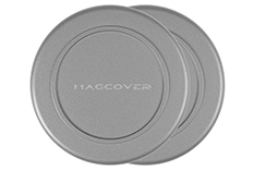 Magcover - Wall Mount Patch for iPhone Case Series - 2 pcs - Silver - Patented