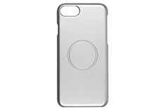 Magcover - Case for iPhone 7 - Silver - Patented