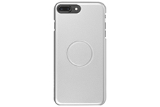 Magcover - Case for iPhone 7 Plus - Silver - Patented