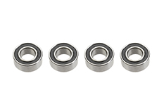 Revtec - Ball Bearing - Chrome Steel - ABEC 3 - Rubber Shielded - 5X10X4 - MR105-2RS - 4 pcs