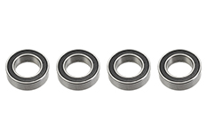 G-Force RC - Ball Bearing - Chrome Steel - ABEC 3 - Rubber Shielded - 6X10X3 - MR106-2RS - 4 pcs
