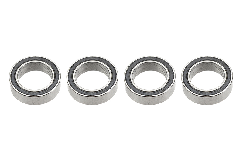 G-Force RC - Ball Bearing - Chrome Steel - ABEC 3 - Rubber Shielded - 8X12X3,5 - MR128-2RS - 4 pcs