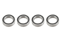 G-Force RC - Ball Bearing - Chrome Steel - ABEC 3 - Rubber Shielded - 10X15X4 - 6700-2RS - 4 pcs
