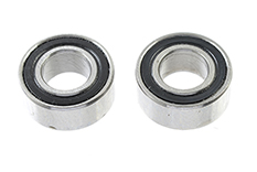 Revtec - Ball Bearing - Ceramic Balls - ABEC 3 - Rubber Shielded - 5X10X4C - MR105-2RS/C - 2 pcs