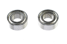 G-Force RC - Ball Bearing - Chrome Steel - ABEC 3 - Metal Shielded - 3X6X2,5 - MR63ZZ - 2 pcs