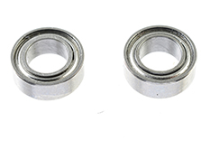 G-Force RC - Ball Bearing - Chrome Steel - ABEC 3 - Metal Shielded - 4X7X2,5 - MR74ZZ - 2 pcs