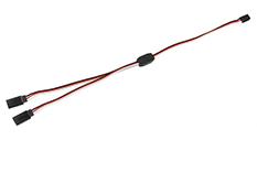 Revtec - Servo Y-Lead - Futaba - 22AWG / 60 Strands - 30cm - 1 pc