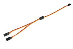 Revtec - Servo Y-Lead - JR/Hitec - 22AWG / 60 Strands - 30cm - 1 pc