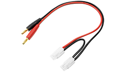 Revtec - Charge Lead - Serial - Tamiya - 14AWG Silicone Wire - 30cm - 1 pc