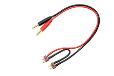 Revtec - Charge Lead - Serial - Deans - 14AWG Silicone Wire - 30cm - 1 pc