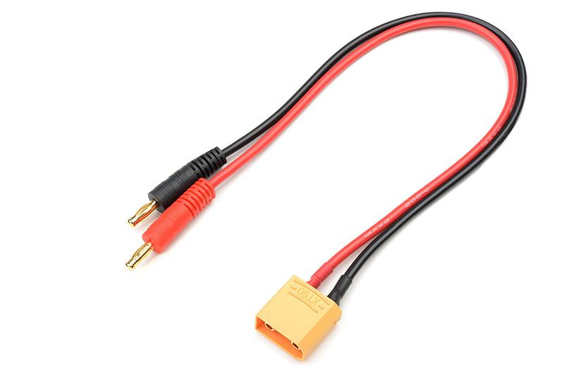 G-Force RC - Charge Lead - XT-90 - 14AWG Silicone Wire - 30cm - 1 pc
