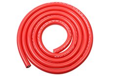 G-Force RC - Silicone Wire - Powerflex PRO+ - Red - 8AWG - 4197/0.05 Strands - OD 6.5mm - 1m
