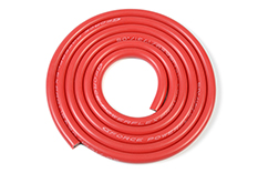 G-Force RC - Silicone Wire - Powerflex PRO+ - Red - 12AWG - 1731/0.05 Strands - OD 4.5mm - 1m