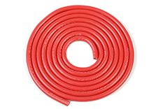 G-Force RC - Silicone Wire - Powerflex PRO+ - Red - 16AWG - 643/0.05 Strands - OD 3.0mm - 1m