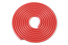 G-Force RC - Silicone Wire - Powerflex PRO+ - Red - 18AWG - 380/0.05 Strands - OD 2.3mm - 1m