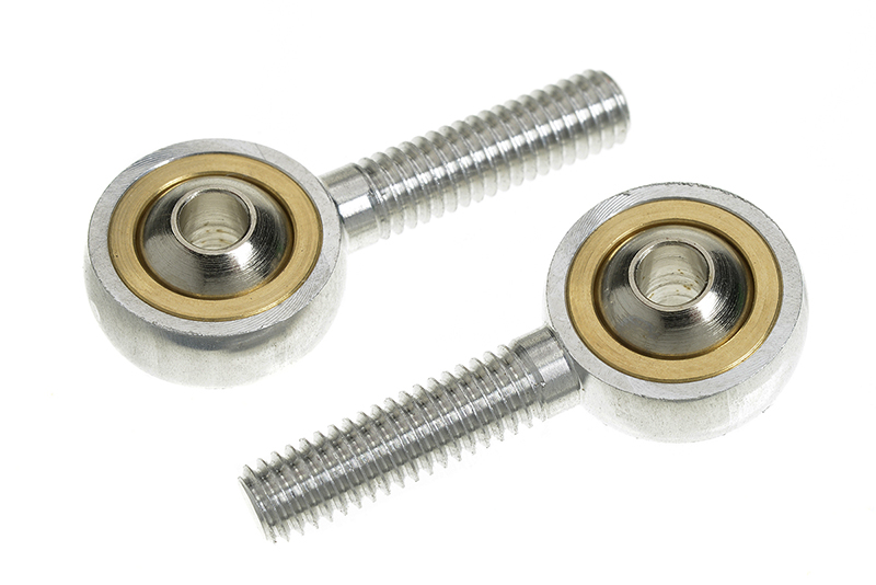 G-Force RC - Aluminium Ball Link - Outer thread M4 - Ball for M3 Screws - 2 pcs