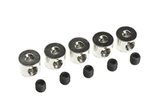 G-Force RC - Wheel Collar - Shaft Dia. 1.6X6.0mm - 5 pcs