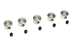 G-Force RC - Wheel Collar - Shaft Dia. 3.1X8.0mm - 5 pcs