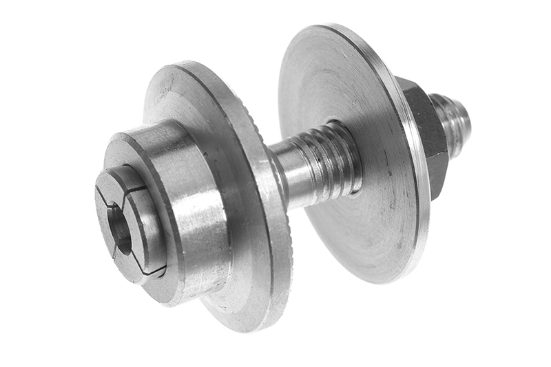 Revtec - Prop Adapter - Body 28mm - Collet Type - M8-40mm - Shaft Dia. 5mm - 1 pc