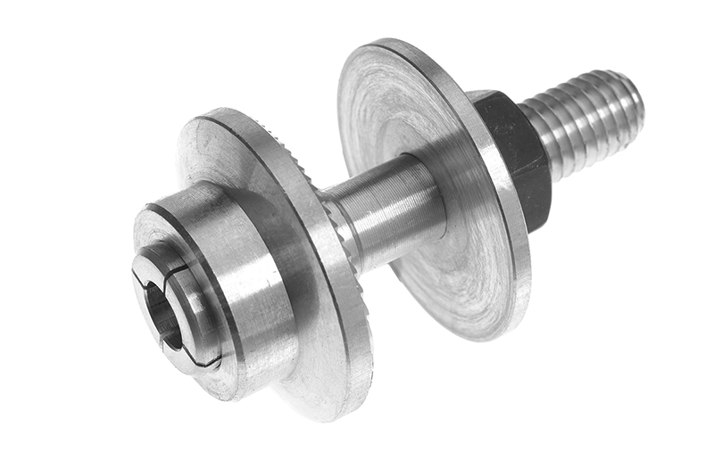 Revtec - Prop Adapter - Body 28mm - Collet Type - M8-48mm - Shaft Dia. 6mm - 1 pc