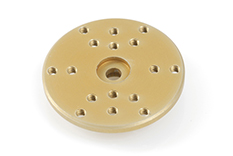 G-Force RC - Precision Aluminium Servo Horn - 7075 T-6 Alloy - Round 28mm - 25T Futaba - 1 pc